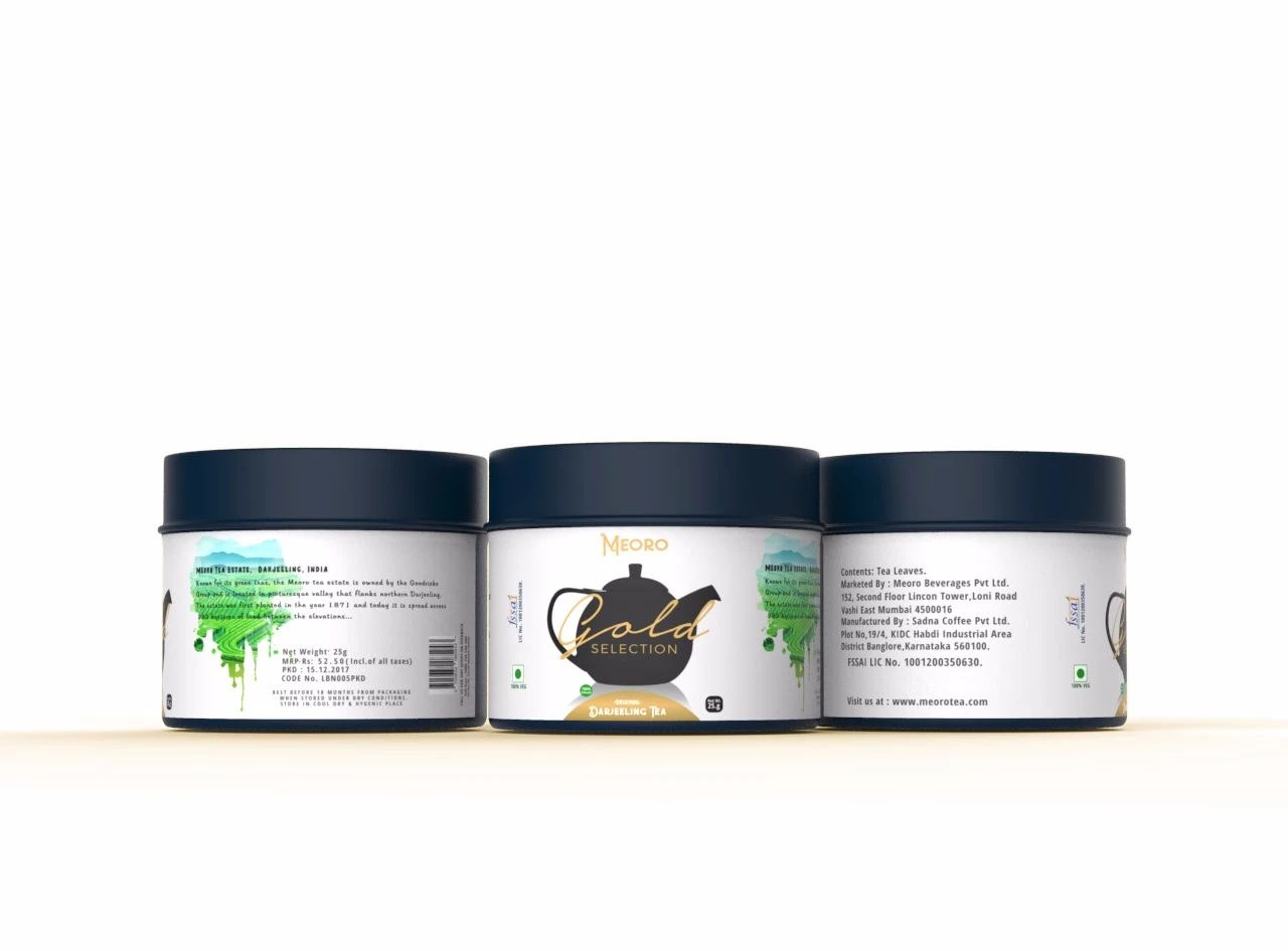 HetTe-Black and Green Tea等5款充满设计感的茶包展示