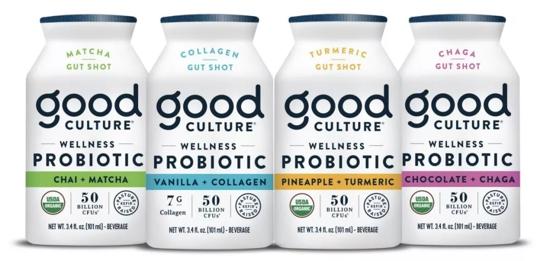 美乳制品Good Culture近日新推有机饮料Wellness Probiotic Gut Shot